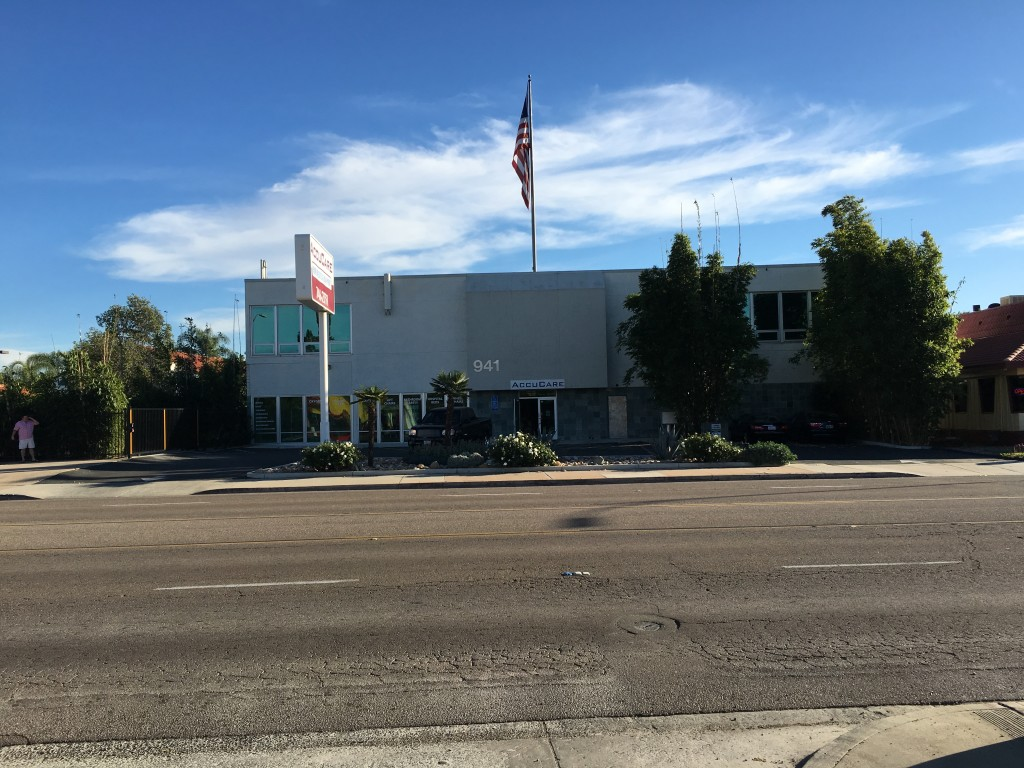 Commercial Property with Warehouse  – East Valley Pkwy